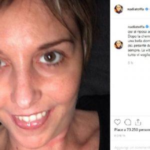 """Nadia Toffa e la chemioterapia a Pasquetta: """"Più pesante delle altre..."""""""