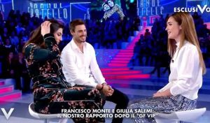"""Verissimo, Giulia Salemi e Francesco Monte: """"Figli e matrimonio? Per ora..."""""""