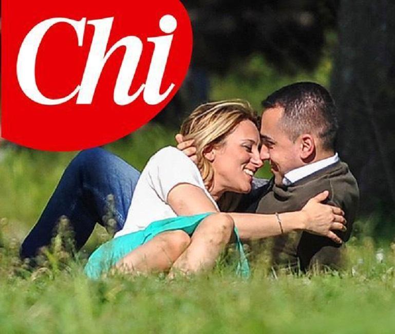 """Luigi Di Maio e Virginia Saba, la foto del primo bacio su Chi. """"Mi ha presentato i suoi""""02"""