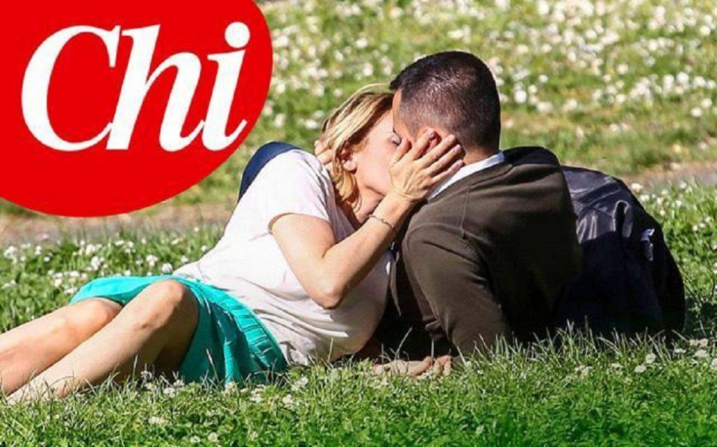 """Luigi Di Maio e Virginia Saba, la foto del primo bacio su Chi. """"Mi ha presentato i suoi""""1"""