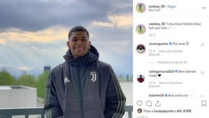 Wesley alla Juventus, foto Instagram svela questo affare di mercato