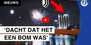 Juventus, notte difficile a Amsterdam: botti e fuochi sotto l'hotel dai tifosi dell'Ajax