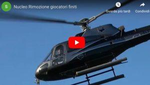 Catania, il calciatore Ignazio Barbagallo viene rapito in campo da elicottero: scherzo finisce con squalifica