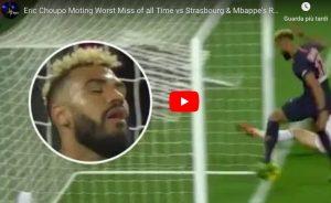 Choupo-Moting sbaglia gol a porta vuota e impedisce al compagno di segnare