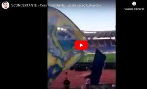 Cori razzisti dei tifosi della Lazio contro Bakayoko durante partita con Udinese. VIDEO