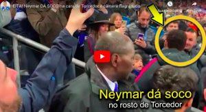 """Caos Psg, Neymar colpisce tifoso e Ben Afa trolla: """"Sono abituati a subire rimonte..."""""""