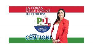 Alessia Centioni, candidata alle Europee, partorisce durante la campagna elettorale