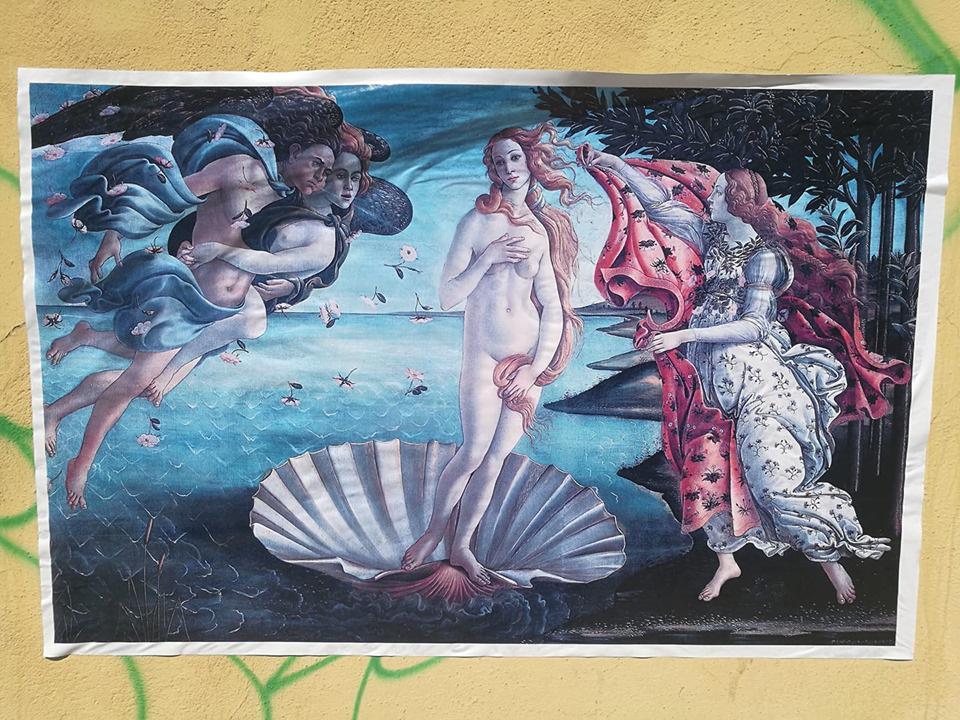 Fiumicino: dopo i sonetti dei poeti, sui muri arrivano i capolavori dei pittori2