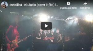 Litfiba, i Metallica a Milano suonano El Diablo VIDEO