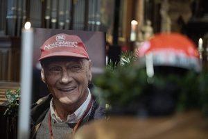 Niki Lauda, funerali a Vienna
