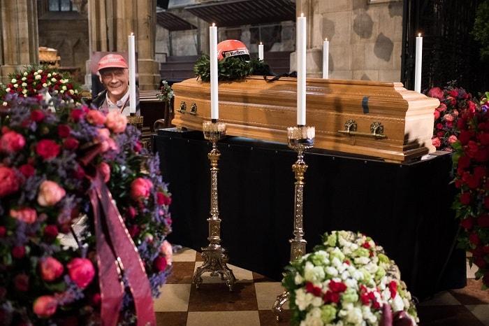 Niki Lauda, funerali a Vienna5