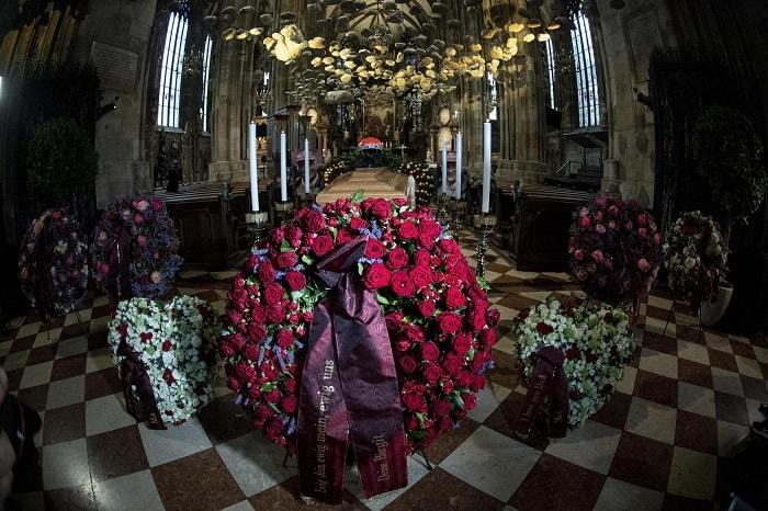 Niki Lauda, funerali a Vienna2