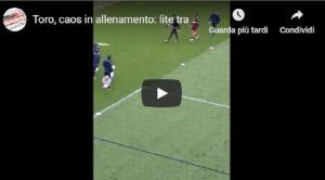 Torino, rissa in allenamento tra Sirigu e Rincon VIDEO