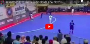 Kuwait ai piedi di Francesco Totti, il suo cucchiaio è da applausi. VIDEO