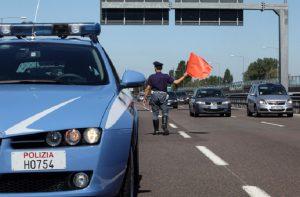 A10 Genova-Ventimiglia, motociclista muore in incidente stradale (foto d'archivio Ansa)
