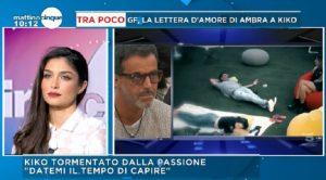 """Mattino 5, Ambra Lombado: """"Con Kikò Nalli ho deciso di..."""""""
