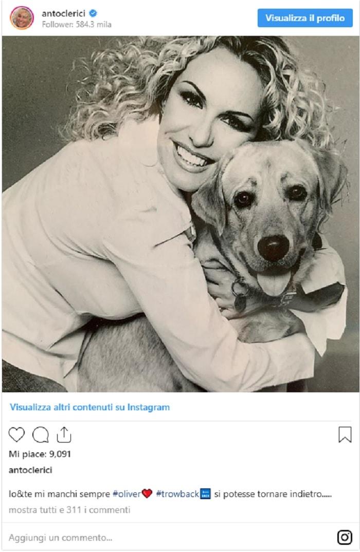 """Antonella Clerici posta FOTO di le a 15 anni. Mara Venier: """"Gnoccona""""22"""