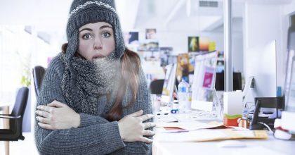 Le donne lavorano meglio al caldo, gli uomini il contrario