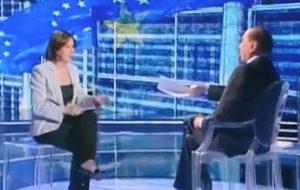 """Cartabianca, Berlusconi rimprovera Bianca Berlinguer: """"La tv non si fa così"""""""