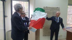 Grande Oriente d'Italia, busto del giornalista Giuseppe Meoni donato alla Fondazione Paolo Murialdi