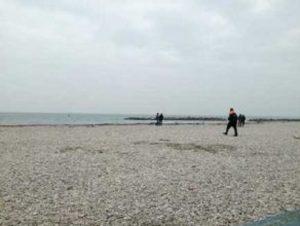 Nettuno, è di Goffredo Petrucciani, 90 anni, il cadavere ritrovato sulla spiaggia (foto d'archivio Ansa)