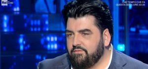 """Domenica In, Antonino Cannavacciuolo: """"Sono un padre assente"""""""
