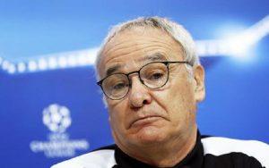 """Roma, Claudio Ranieri annuncia: """"Lascio a fine stagione"""" (foto Ansa)"""