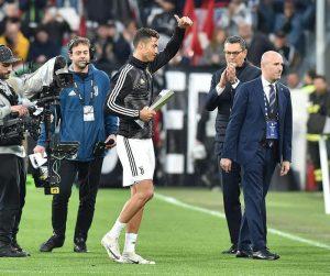 Cristiano Ronaldo miglior calciatore della Serie A, la premiazione allo Stadium