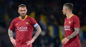 """Repubblica: """"De Rossi, Manolas, Dzeko e Kolarov a dicembre chiesero la testa di Totti, Di Francesco e Monchi"""""""