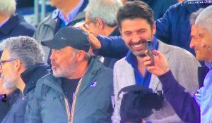 Addio De Rossi, anche Buffon allo Stadio Olimpico: FOTO