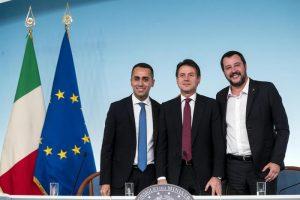 Italia, manicomio governo Lega-M5s: economia a picco e si parla di Siri, rom...
