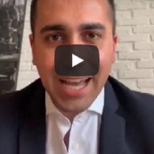 """Di Maio: """"Chiedo agli italiani di dare un segnale, non vogliamo una nuova Tangentopoli"""""""