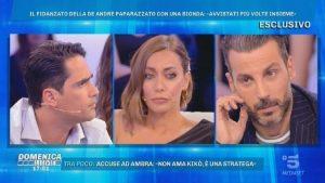 """Domenica Live, Biagio D'Anelli: """"Il ragazzo di Francesca De Andrè beccato con una bionda..."""""""