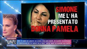 Eliana Michelazzo a Live non è la D'Urso: Simone Coppi non esiste
