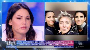 Eliana Michelazzo a Live Non è la D'Urso: denuncia Pamela Perricciolo