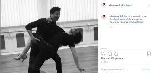Elisa Isoardi ospite a Ballando con le stelle: la foto delle prove di danza