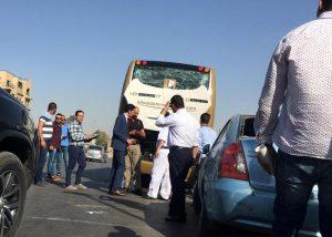 Il Cairo, esplode ordigno vicino a bus turistico: 16 feriti