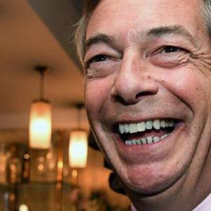 Europee 2019, in Gran Bretagna trionfa Farage col 32%. Laburisti al 16%, Conservatori all'8% (foto Ansa)