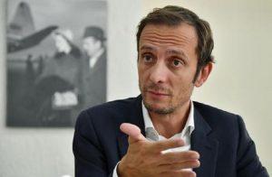 Tolmezzo, ubriaco tenta di aggredire il presidente del Friuli Fedriga: arrestato (foto Ansa)
