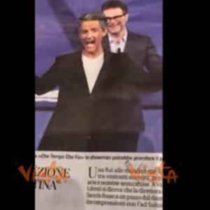 """Rai, Fiorello scherza sui compensi: """"17mila euro per 2 minuti sono pochi"""". Poi attacca Repubblica e Stampa VIDEO"""