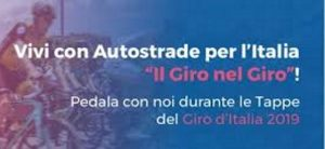 Giro nel giro, 5 pedalate per celebrare Autostrade per l'Italia e il Giro 2019