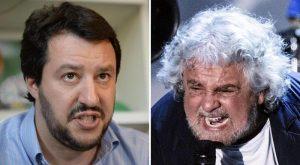 """Beppe Grillo: """"Salvini lo manderei a lavorare a calci"""""""