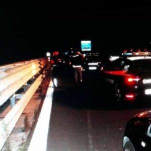 A1, incidente nella notte tra Modena Nord e Modena Sud: due vittime (foto d'archivio Ansa)