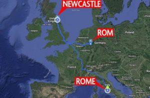 Inghilterra, vuole vedere il Papa ma sbaglia a scrivere Roma sul navigatore e finisce a Rom, in Germania