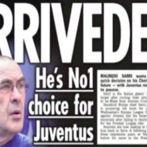 Juventus, ecco Sarri: il tecnico ha dato l'ultimatum al Chelsea