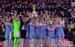 Lazio vince la Coppa Italia, 2-0 all'Atalanta: gol di Milinkovic e Correa