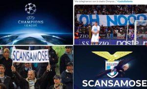 """Sui social si grida al complotto: """"Lazio si è scansata. A lei la Coppa Italia, all'Atalanta la Champions"""""""