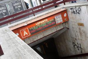 Roma, incidente metro stazione Lepanto: persona sui binari