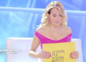 """Domenica Live, nuova lettera per Serena Rutelli. Il fratello: """"Vorrei conoscerti"""""""