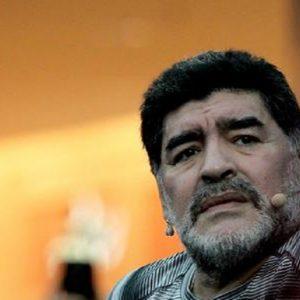 Argentina, Maradona fermato all'aeroporto e poi rilasciato per una denuncia dell'ex compagna (foto Ansa)